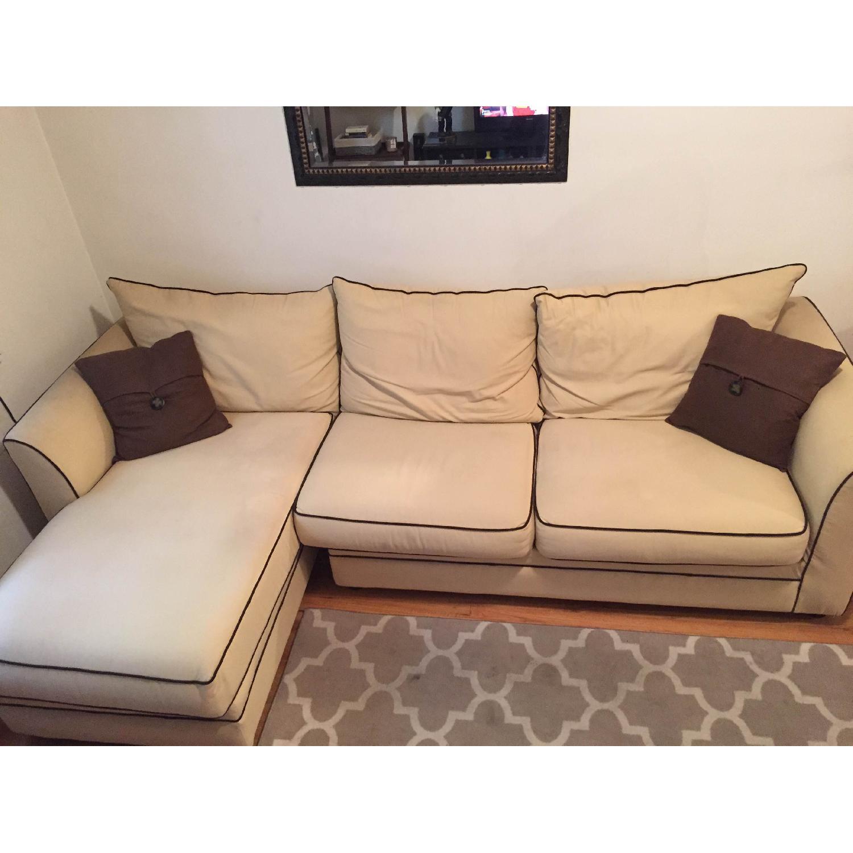 Jennifer Convertibles Sleeper Sectional Sofa - image-1