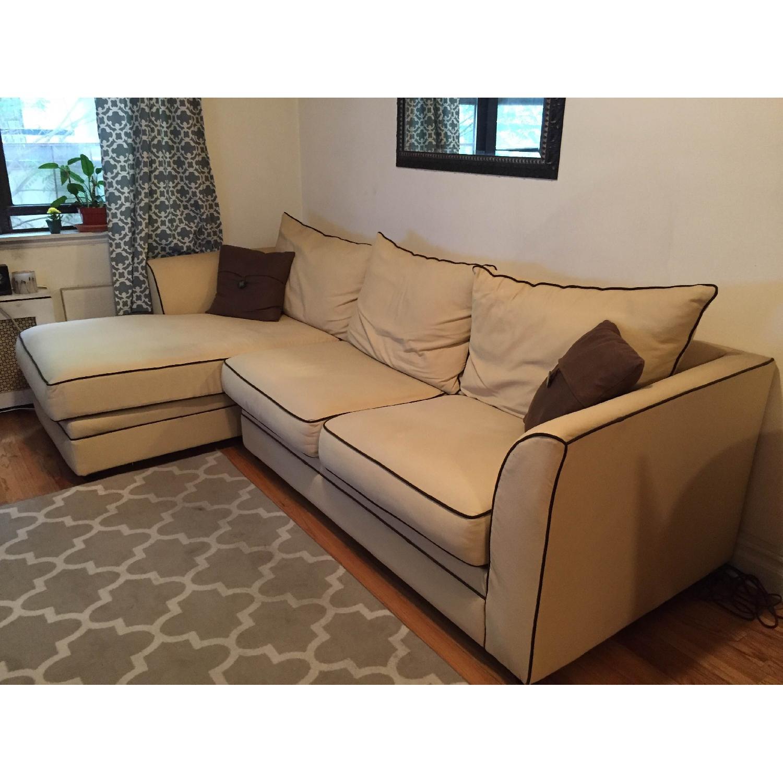 Jennifer Convertibles Sleeper Sectional Sofa - image-2