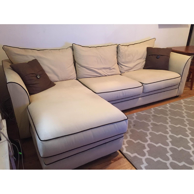 Jennifer Convertibles Sleeper Sectional Sofa - image-3