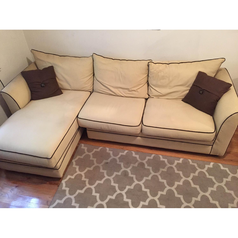 Jennifer Convertibles Sleeper Sectional Sofa - image-4