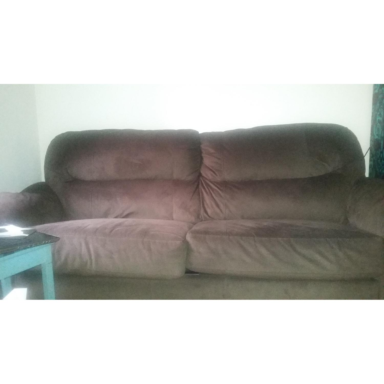 Bob's Queen Size Sleeper Sofa - image-5