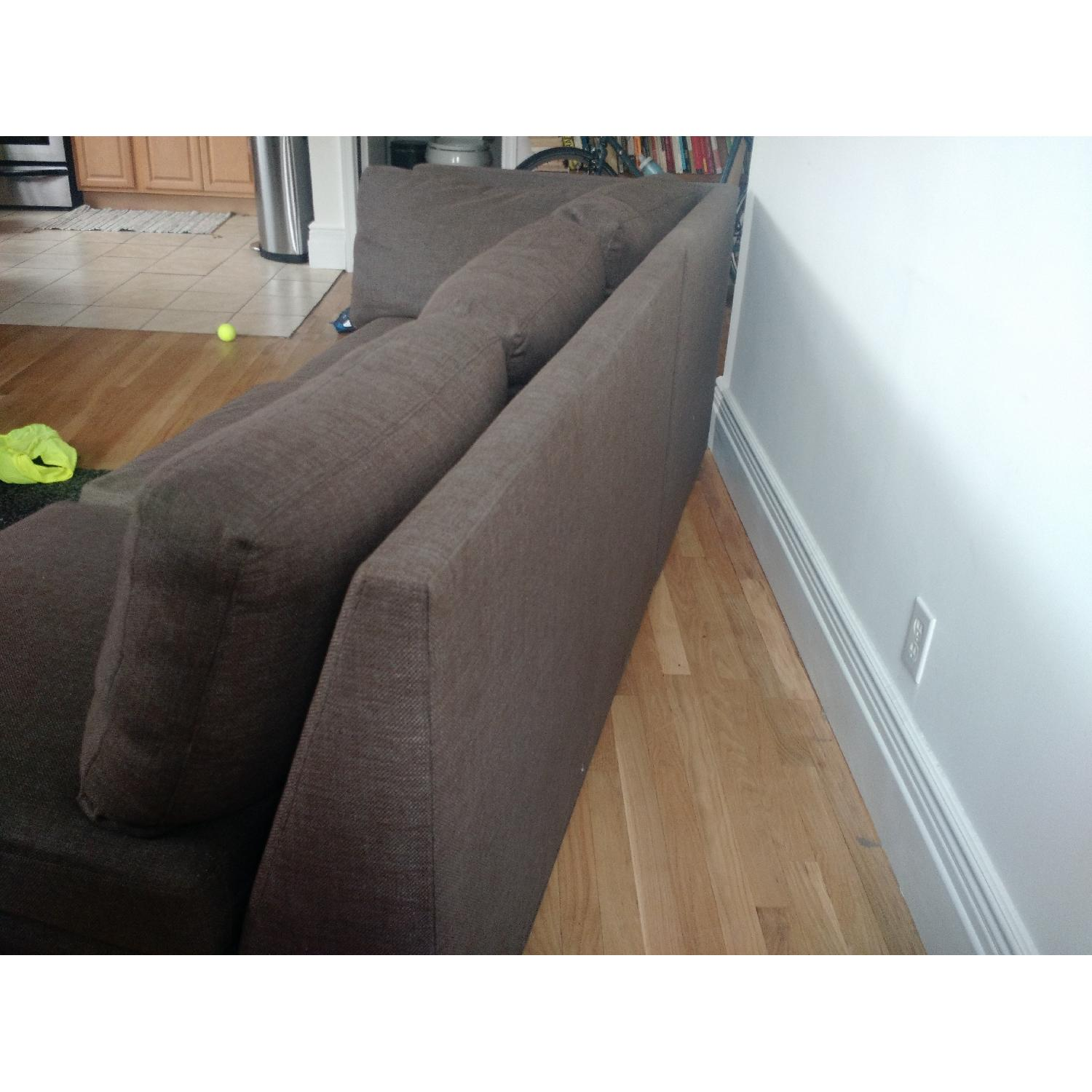 Crate & Barrel City Two-Piece Sectional - image-2