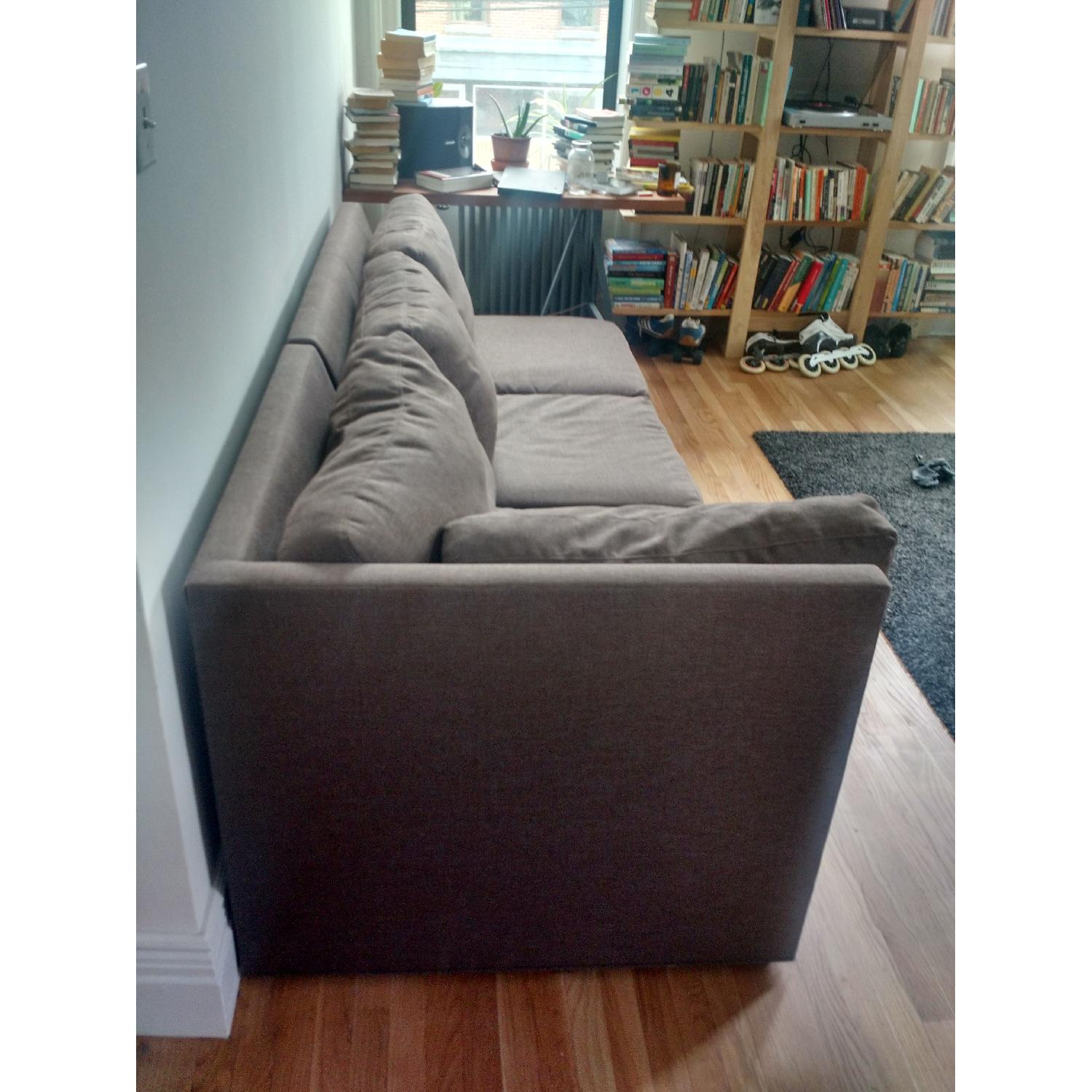 Crate & Barrel City Two-Piece Sectional - image-3