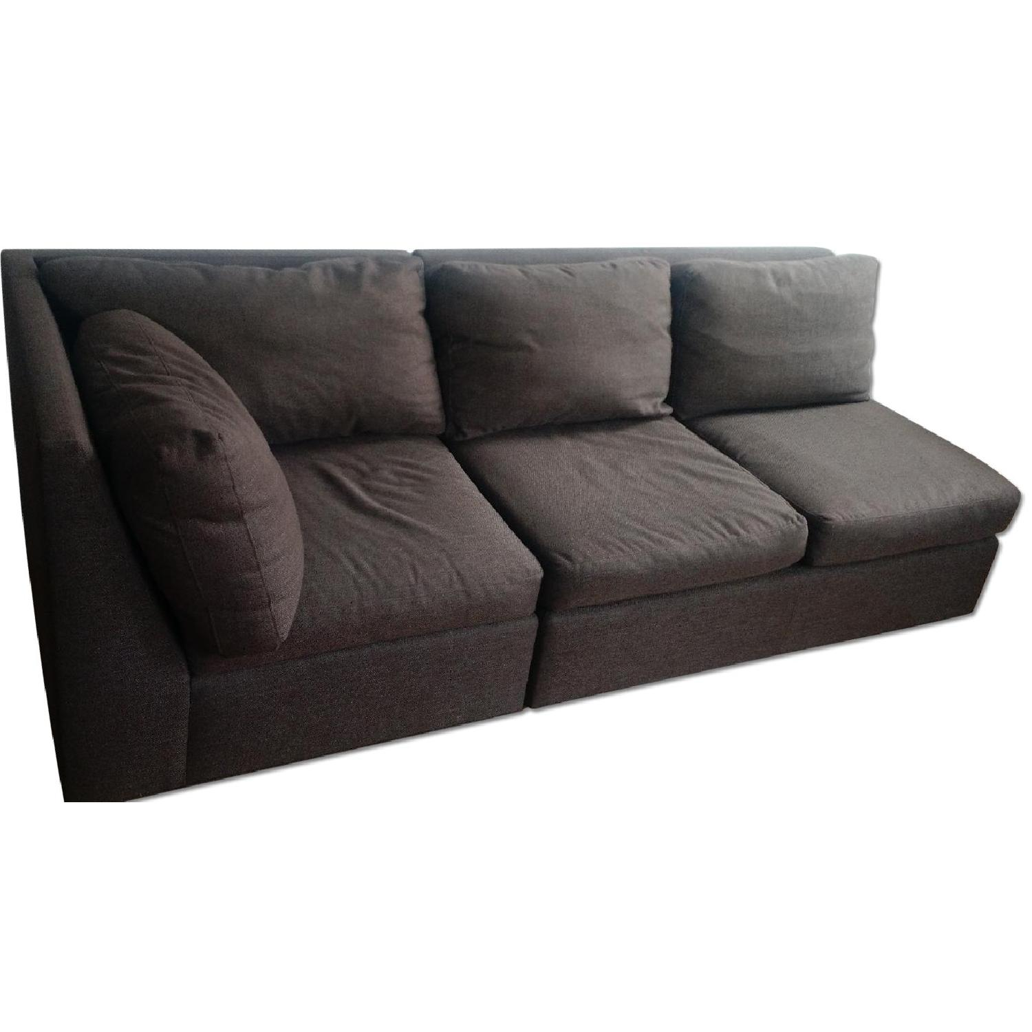 Crate & Barrel City Two-Piece Sectional - image-7