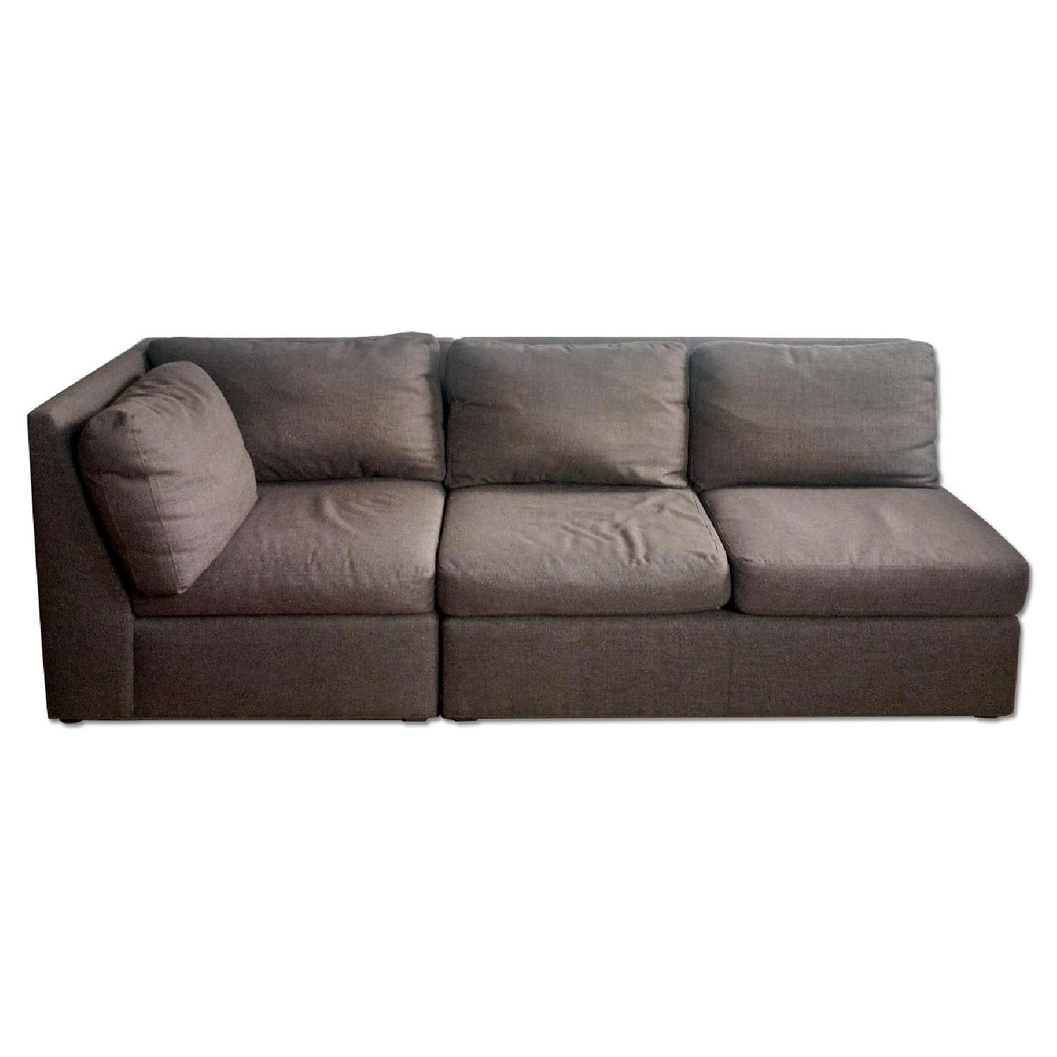 Crate & Barrel City Two-Piece Sectional - image-0