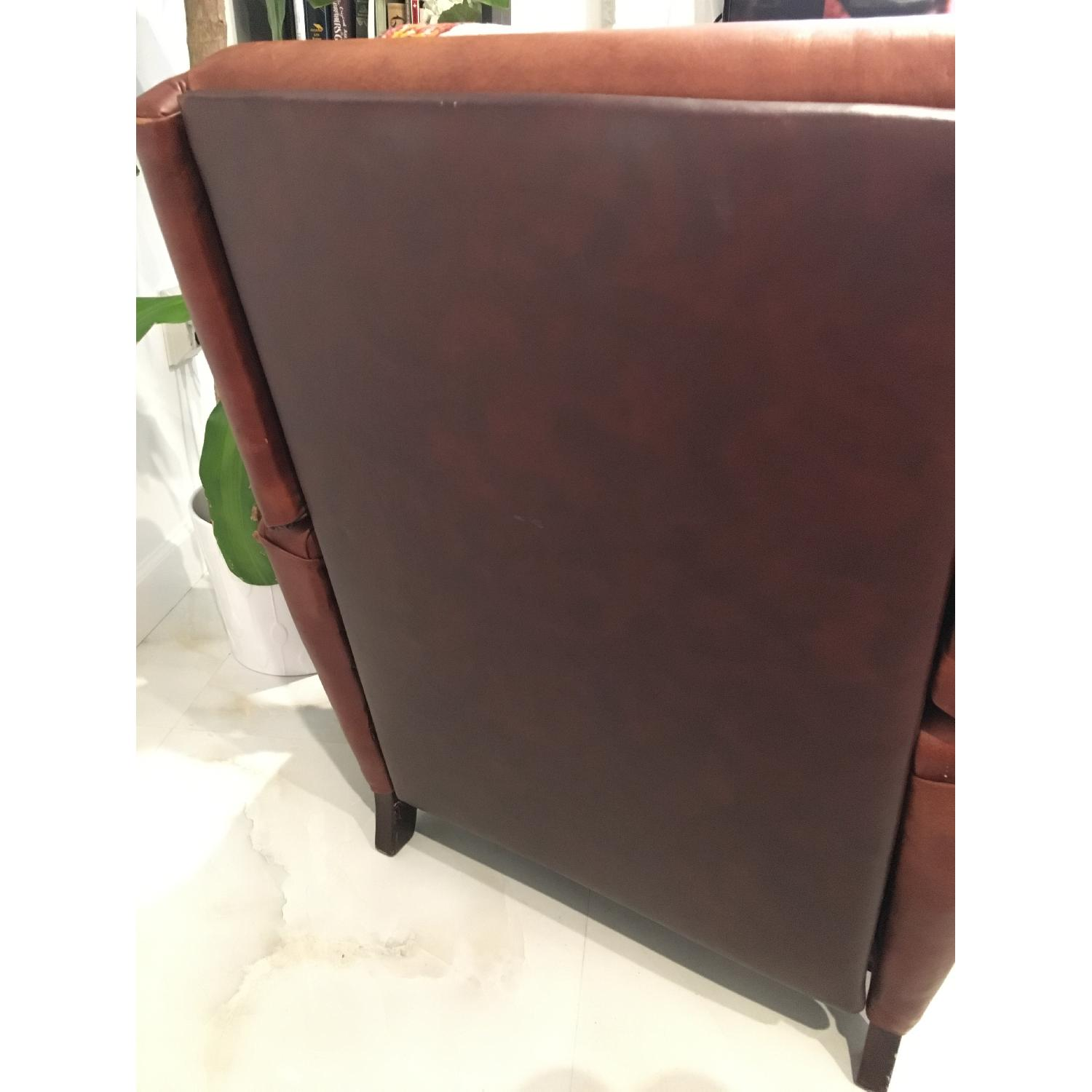Brown Barcalounger Leather Arm Chair - image-6