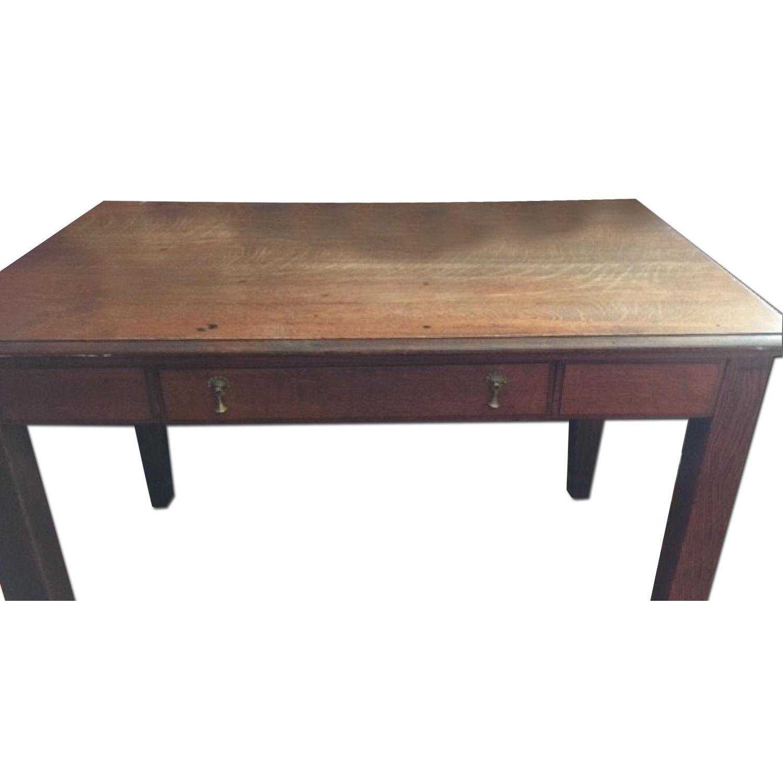Antique Large Desk - image-0