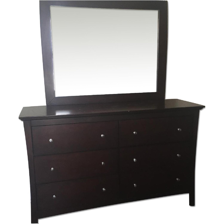 Bob's Wood Dresser w/ Detachable Mirror - image-0