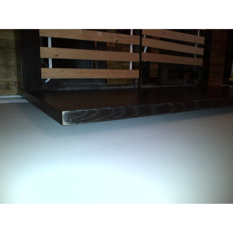 West Elm Wood Full/ Queen Platform Storage Bed w/ Headboard & 4-Drawers - image-8
