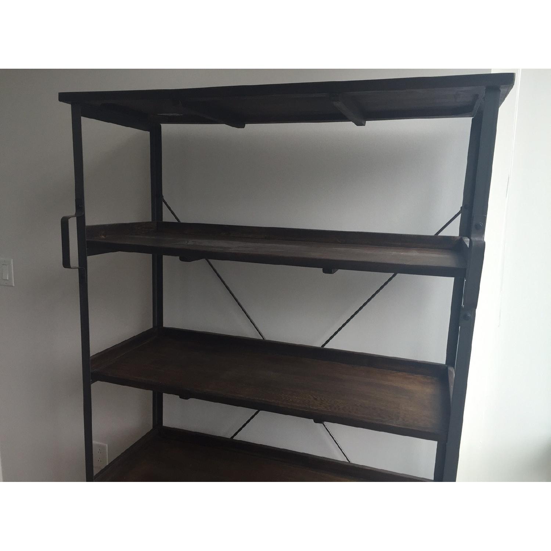 World Market Wood/Metal Bookcase - image-3
