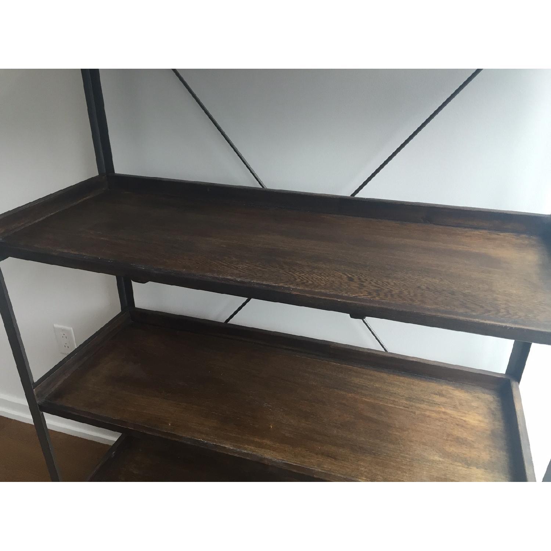 World Market Wood/Metal Bookcase - image-4