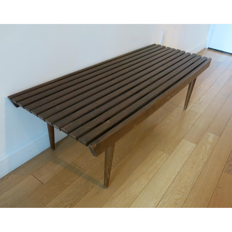 Vintage Mid-Century-Danish-Style Coffee Table/Bench - image-1
