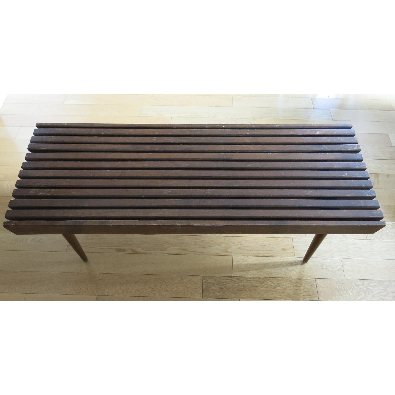 Vintage Mid-Century-Danish-Style Coffee Table/Bench - image-7