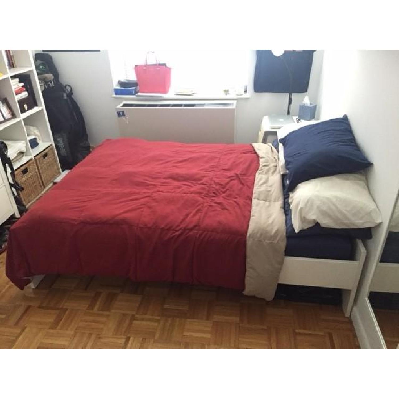 Ikea Brimnes Full Size Bed Frame - image-2