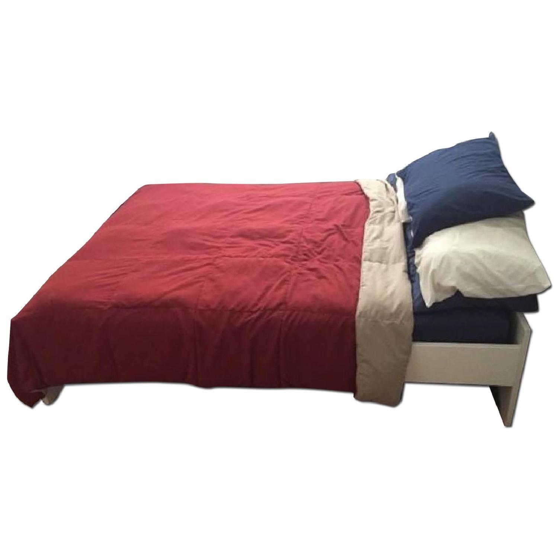 Ikea Brimnes Full Size Bed Frame - image-0