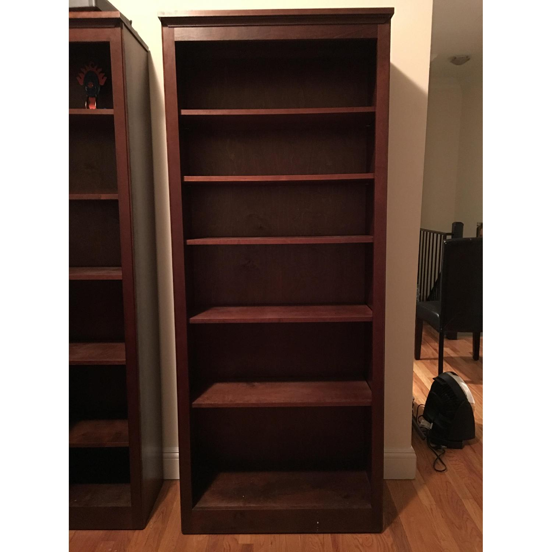 Hardwood Bookshelf - image-1