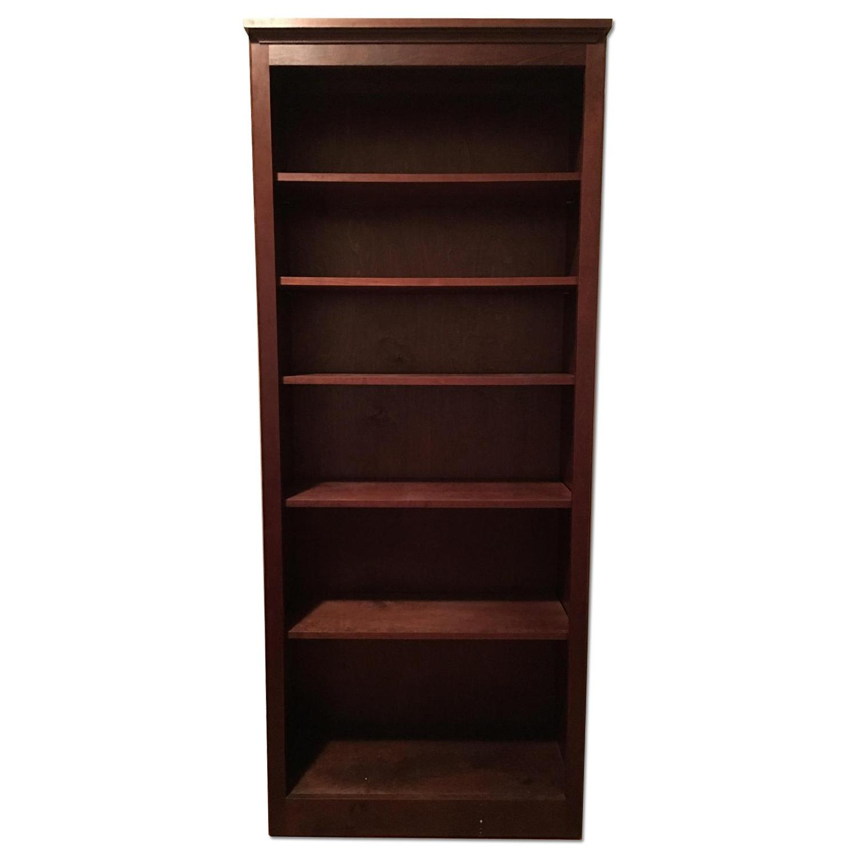 Hardwood Bookshelf - image-0