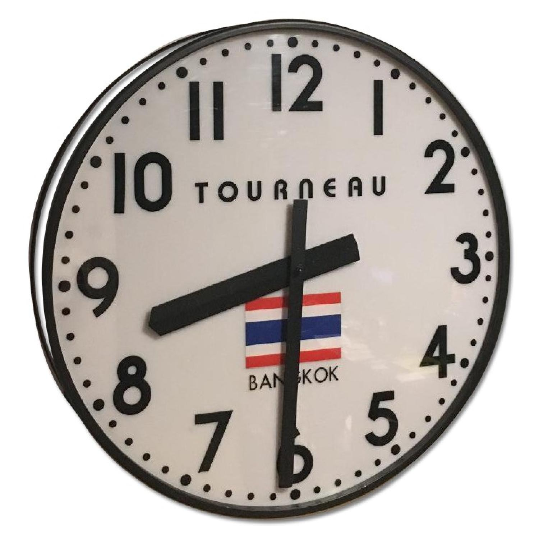 Tourneau Wall Clock Bangkok - image-0