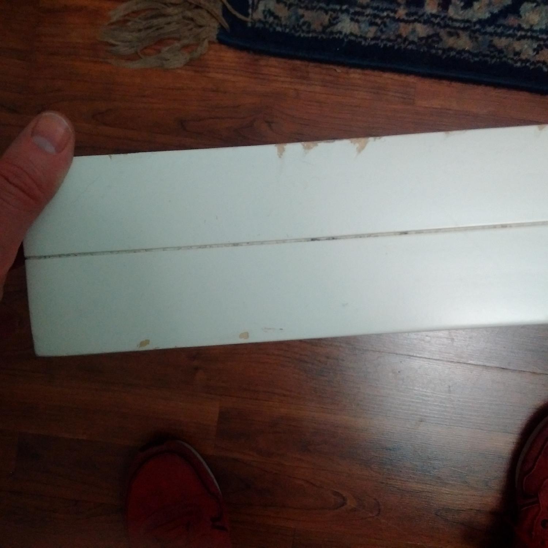 Z Gallerie White Lacquer Wood Bed w/ Velvet Upholstered Headboard - image-5