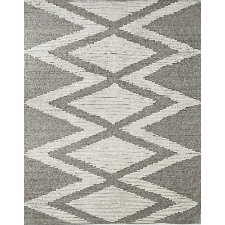 West Elm Finn Wool Rug in Heather Gray - image-0
