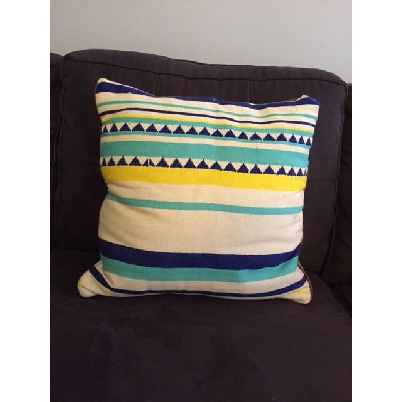 Anthropologie Peruvian Handmade Pillow - image-1