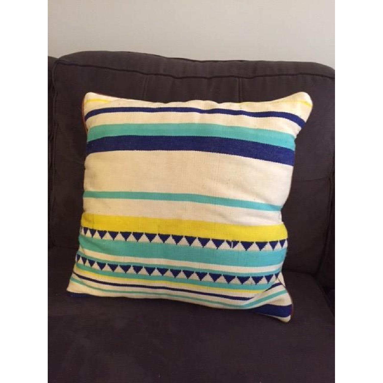 Anthropologie Peruvian Handmade Pillow - image-3