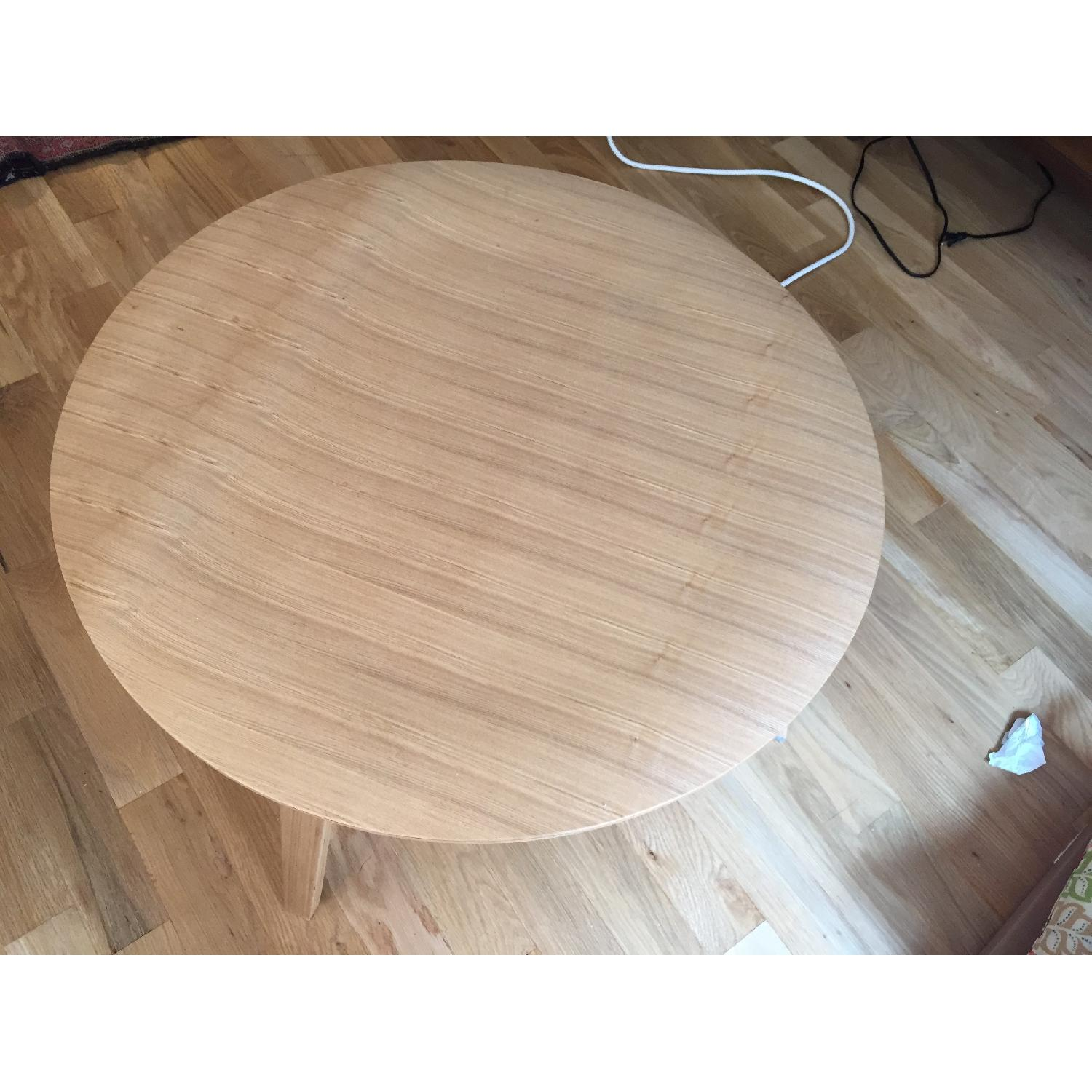LexMod Wooden Round Coffee Table - image-3