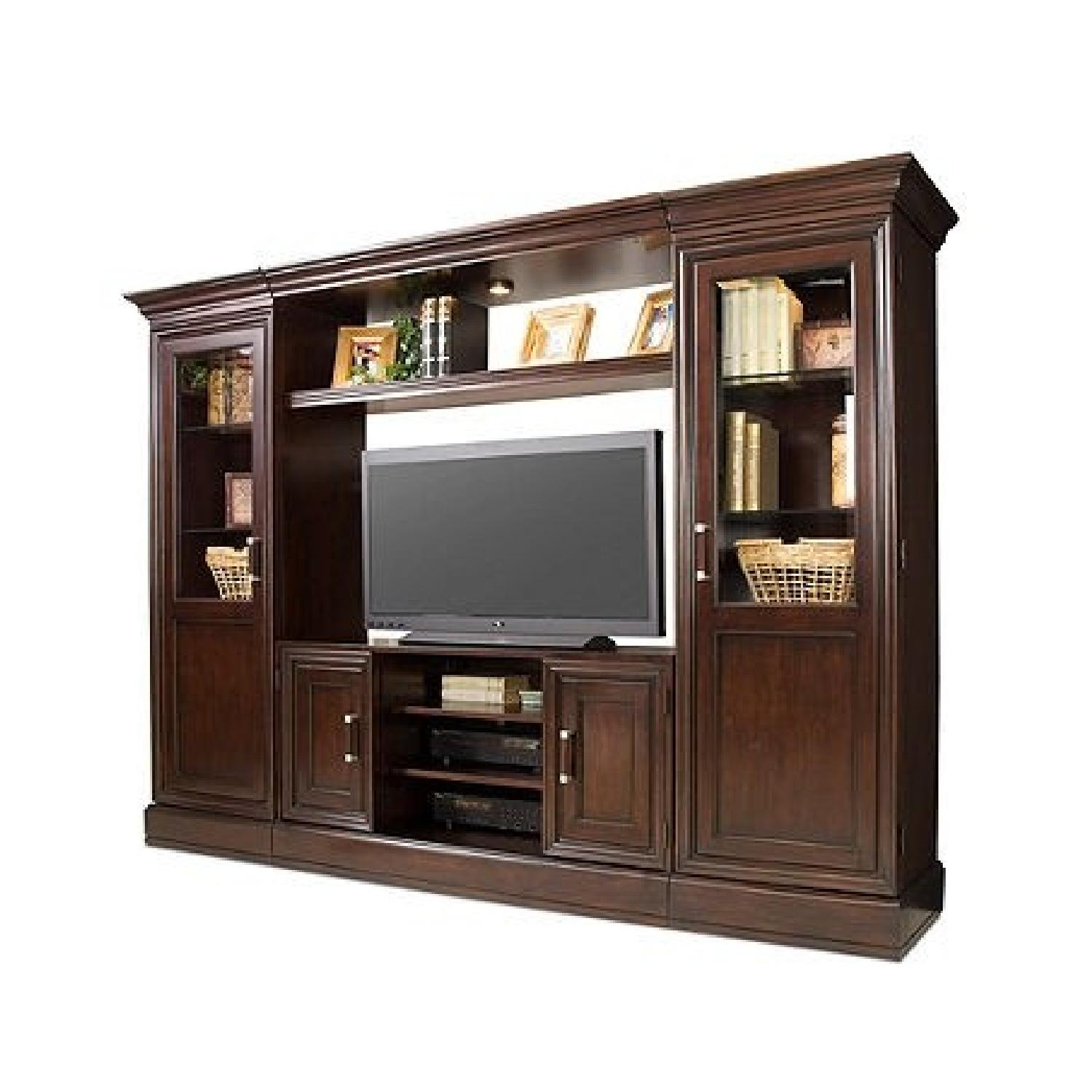 Macy's Pine Solid Entertainment Center - image-0