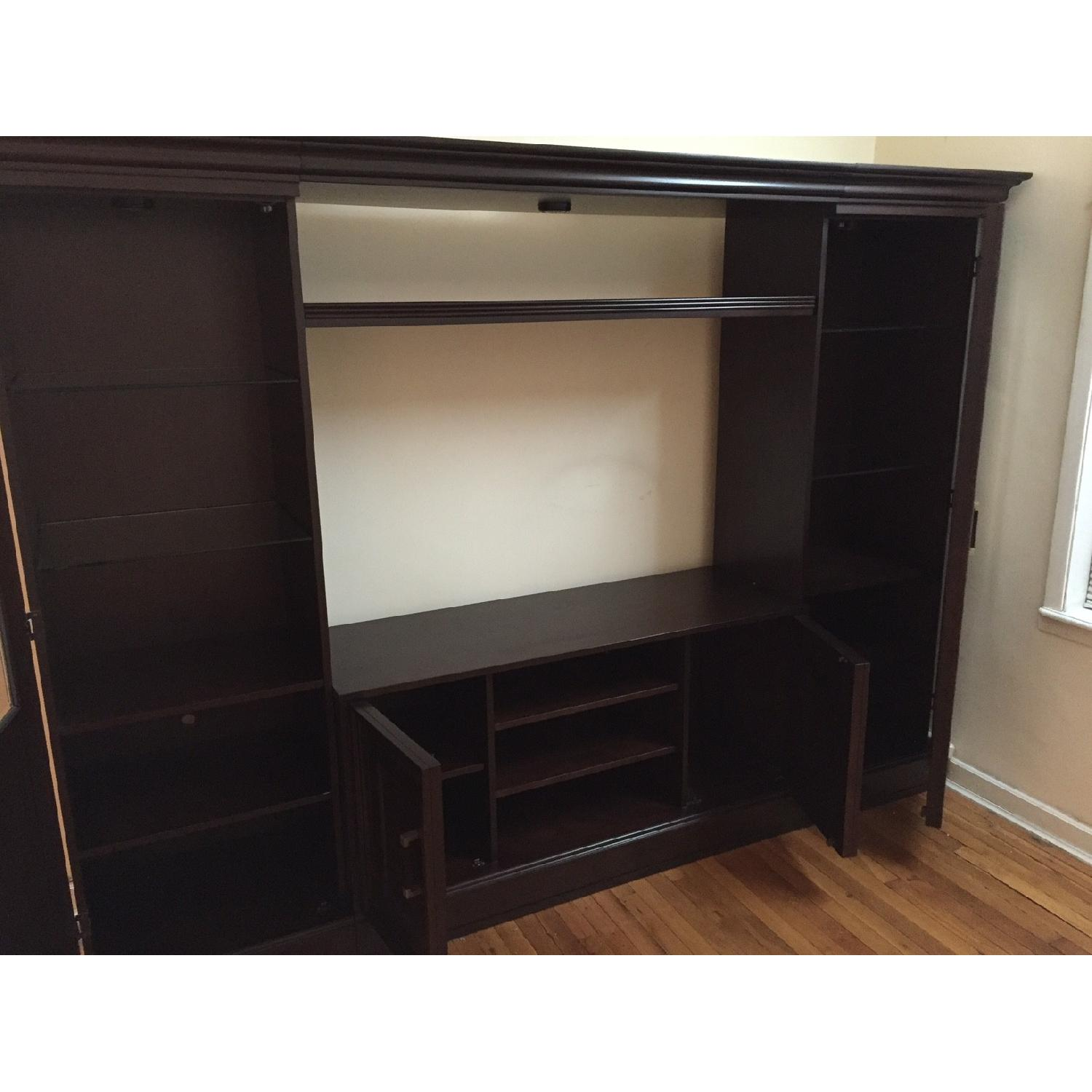 Macy's Pine Solid Entertainment Center - image-2