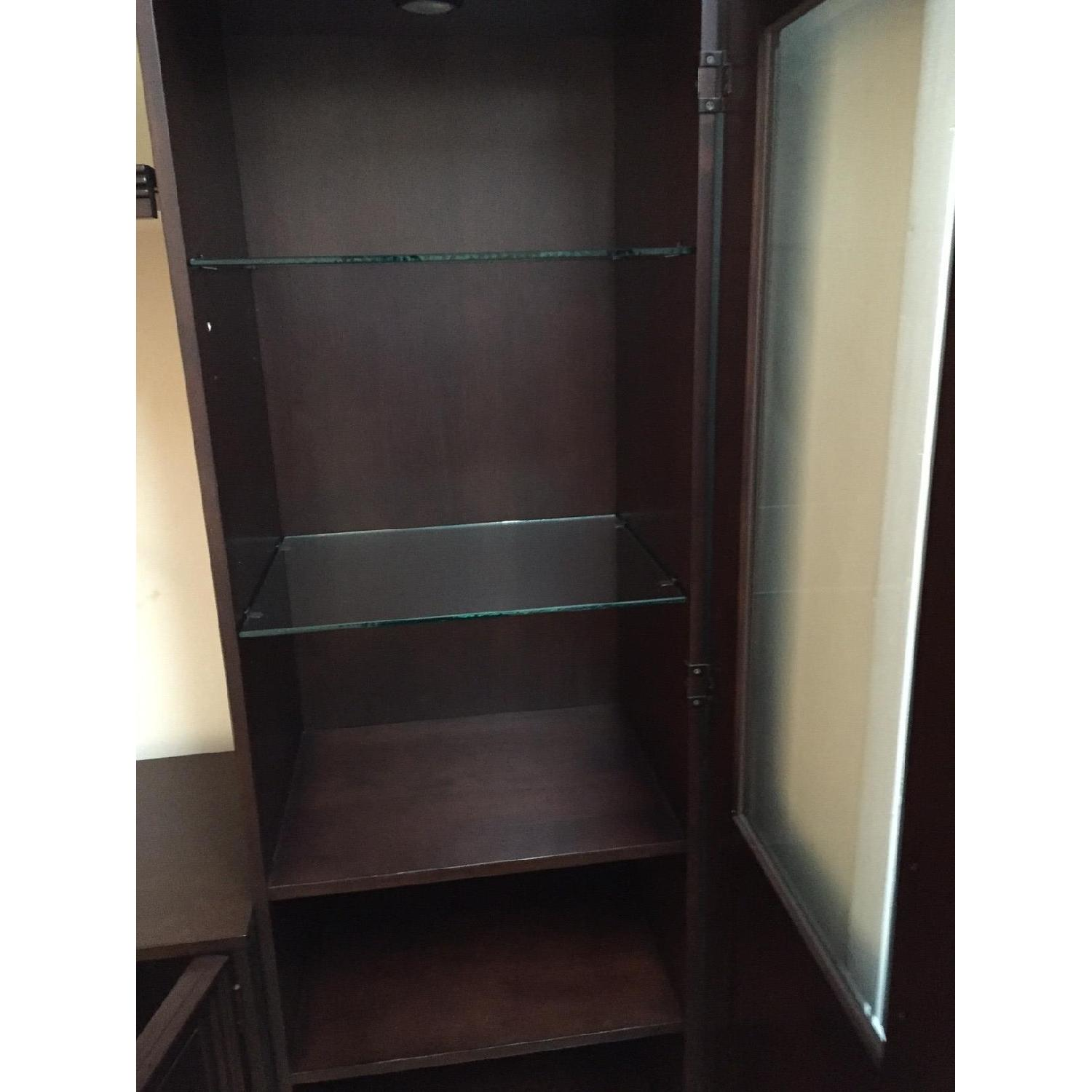 Macy's Pine Solid Entertainment Center - image-5
