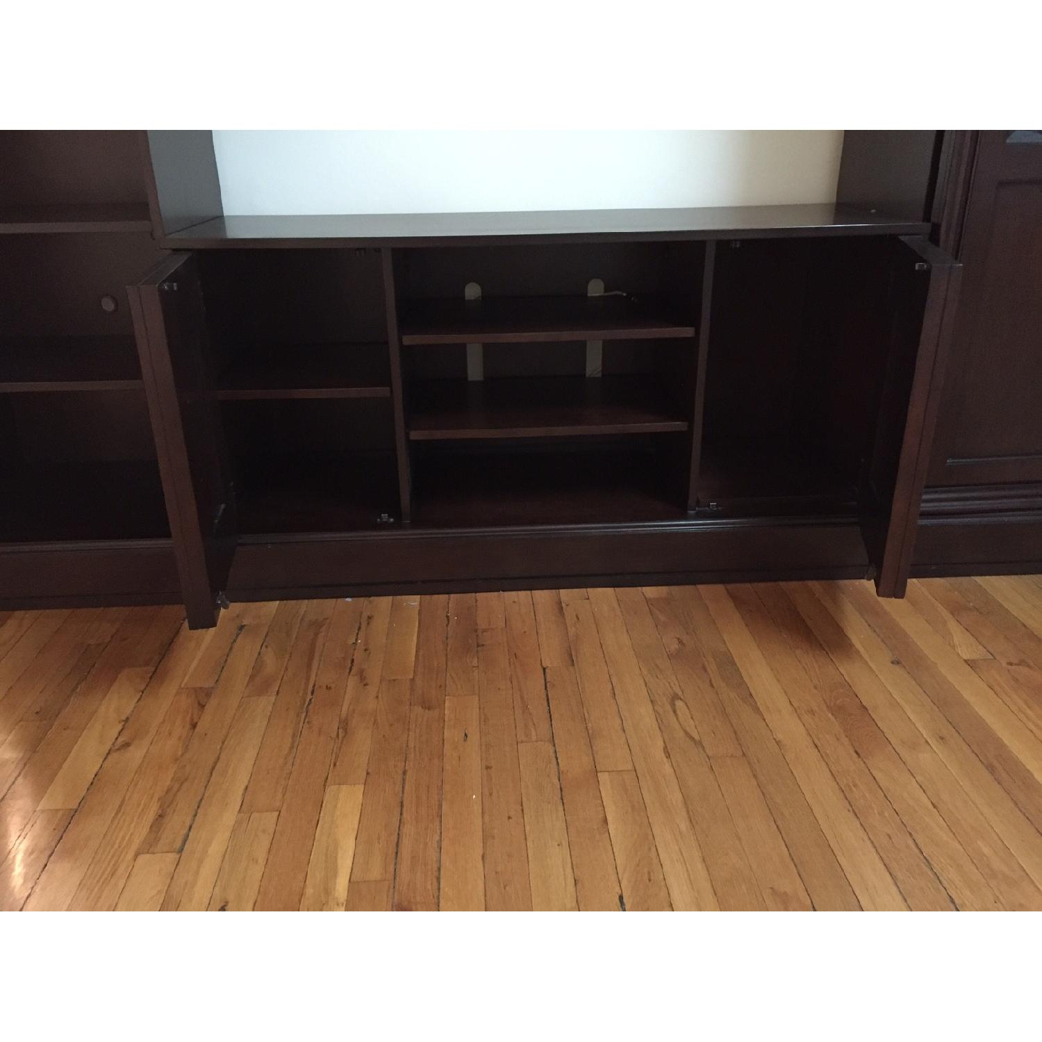 Macy's Pine Solid Entertainment Center - image-6