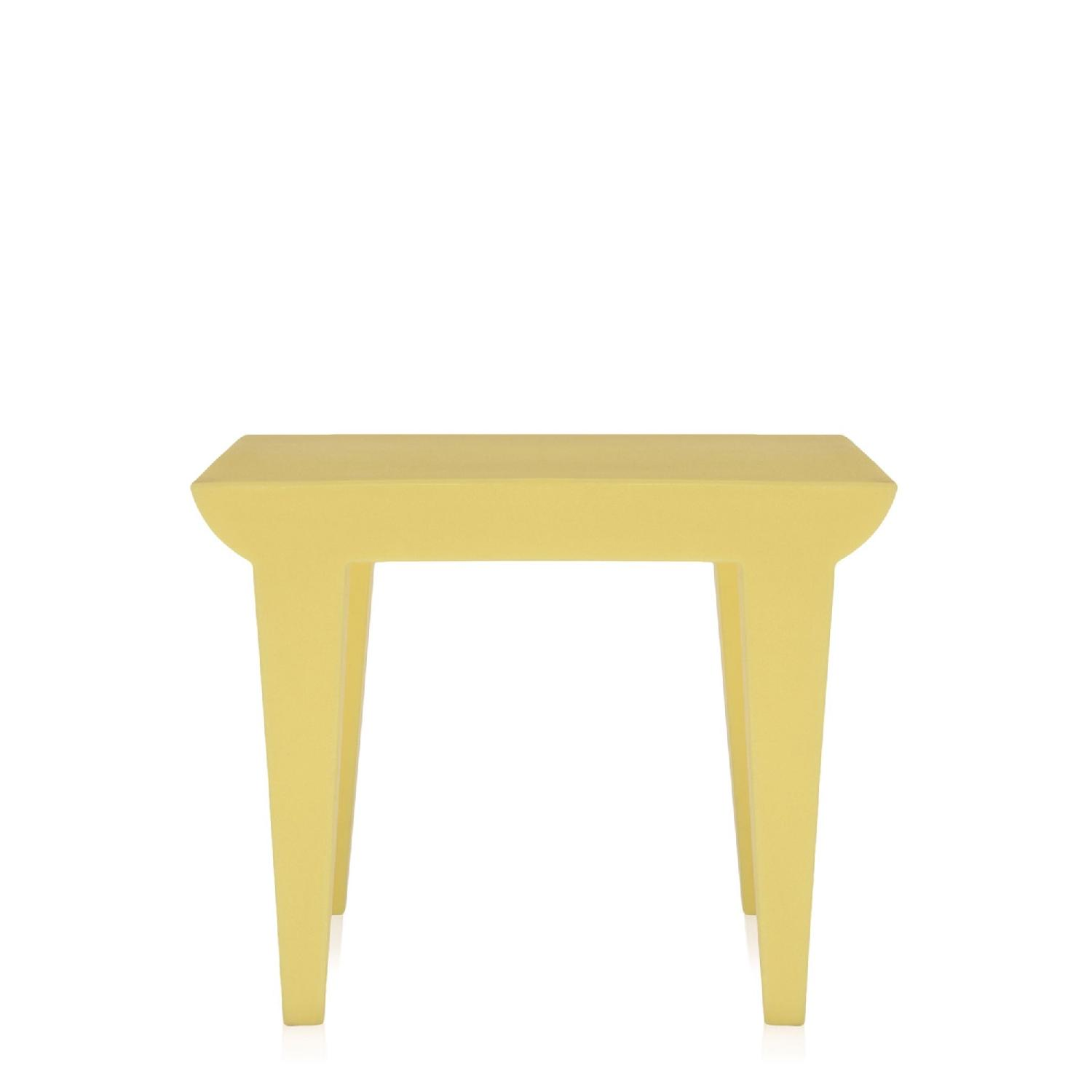 Kartell Philippe Stark Bubble Club Side Tables in Yellow - image-6