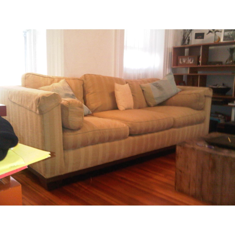 Baker Furniture Barbara Barry Reeded Base Sofa - image-3