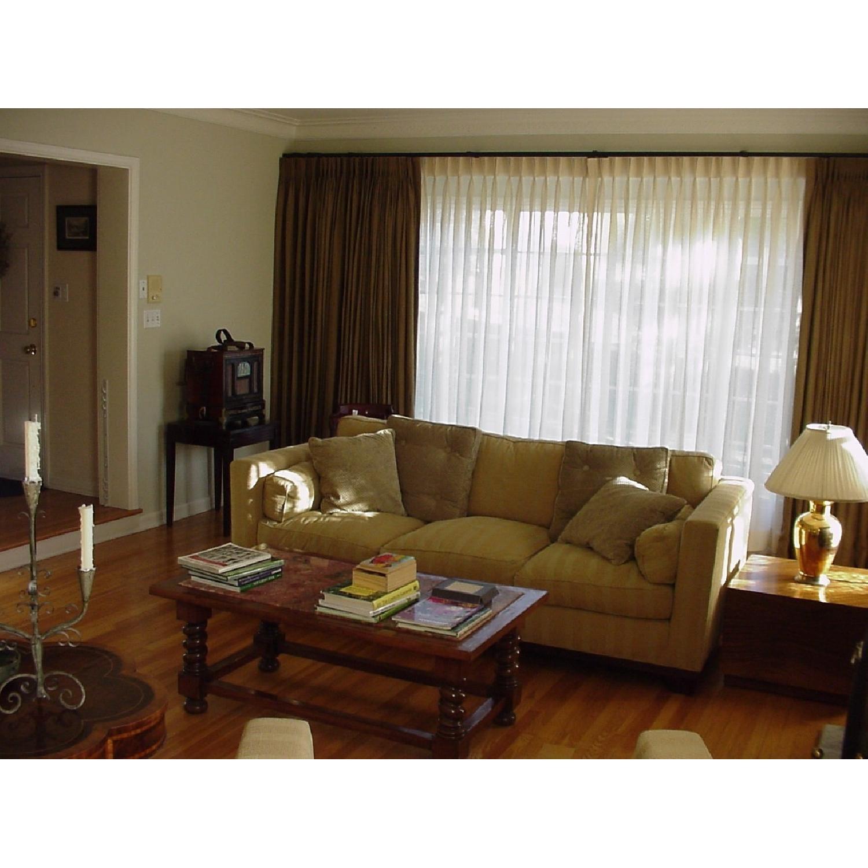 Baker Furniture Barbara Barry Reeded Base Sofa - image-4