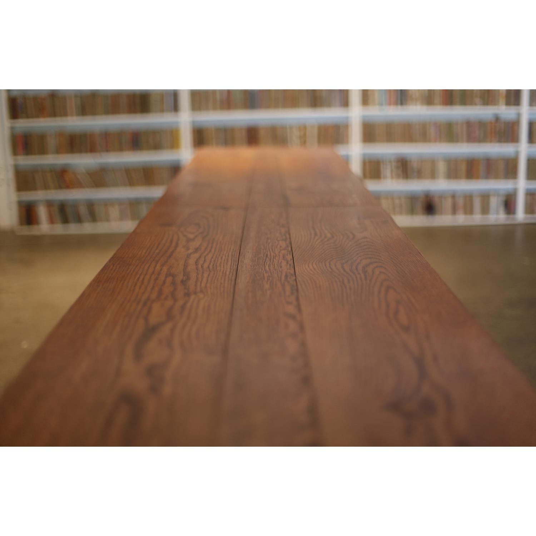 Vintage Wood Dining Table - image-1