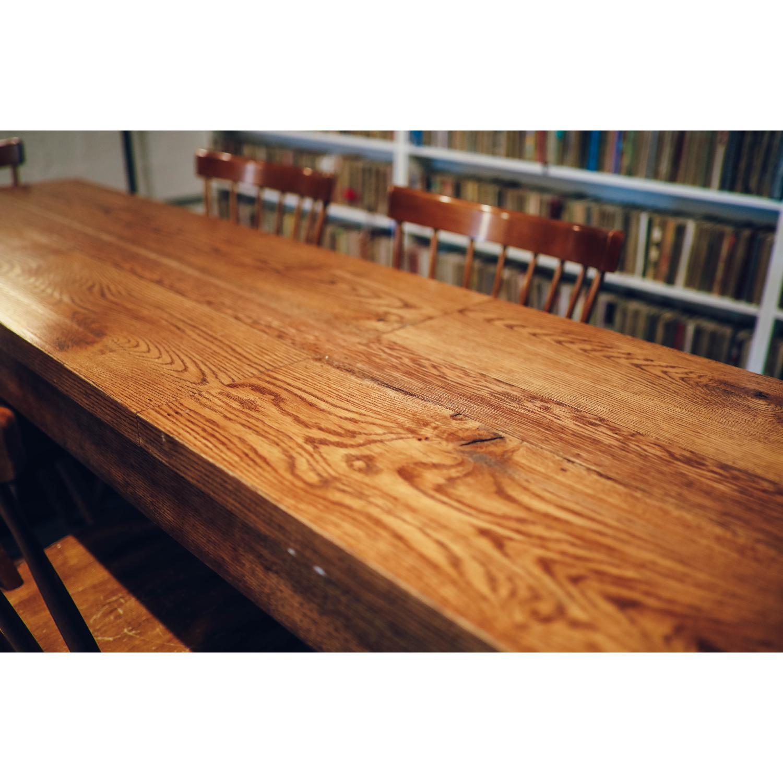 Vintage Wood Dining Table - image-3