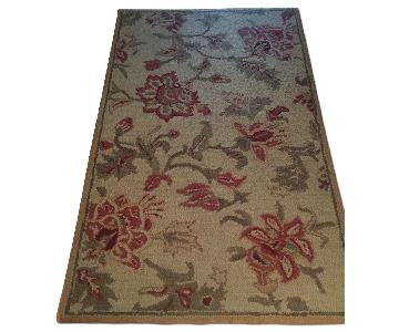 Pottery Barn Palampore Handtufted Wool Rug