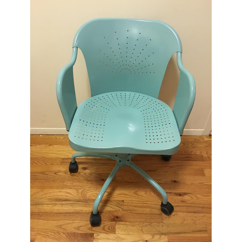 Ikea Roberget Blue Office Chair w/ Wheels - image-2