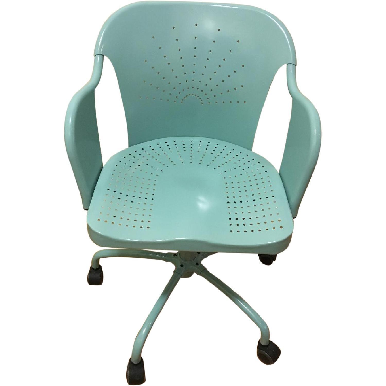 Ikea Roberget Blue Office Chair w/ Wheels - image-0