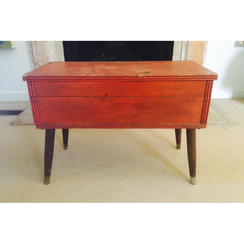 Orange Rustic Mod Trunk Coffee Table - image-1