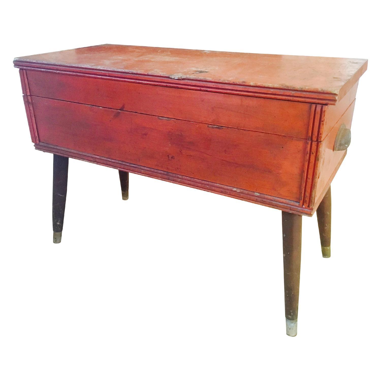 Orange Rustic Mod Trunk Coffee Table - image-6