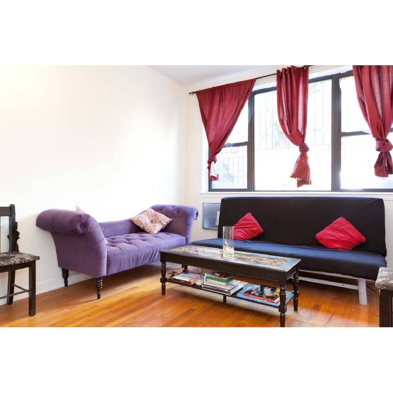 Skyline Furniture Purple Velvet Tufted Chaise Sofa - image-4