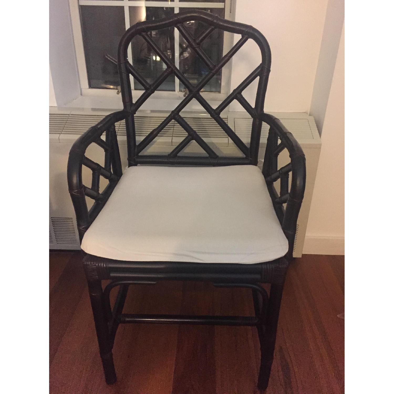 Ballard Designs Chippendale Style Macau Chair - image-1
