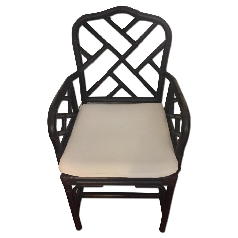 Ballard Designs Chippendale Style Macau Chair - image-0
