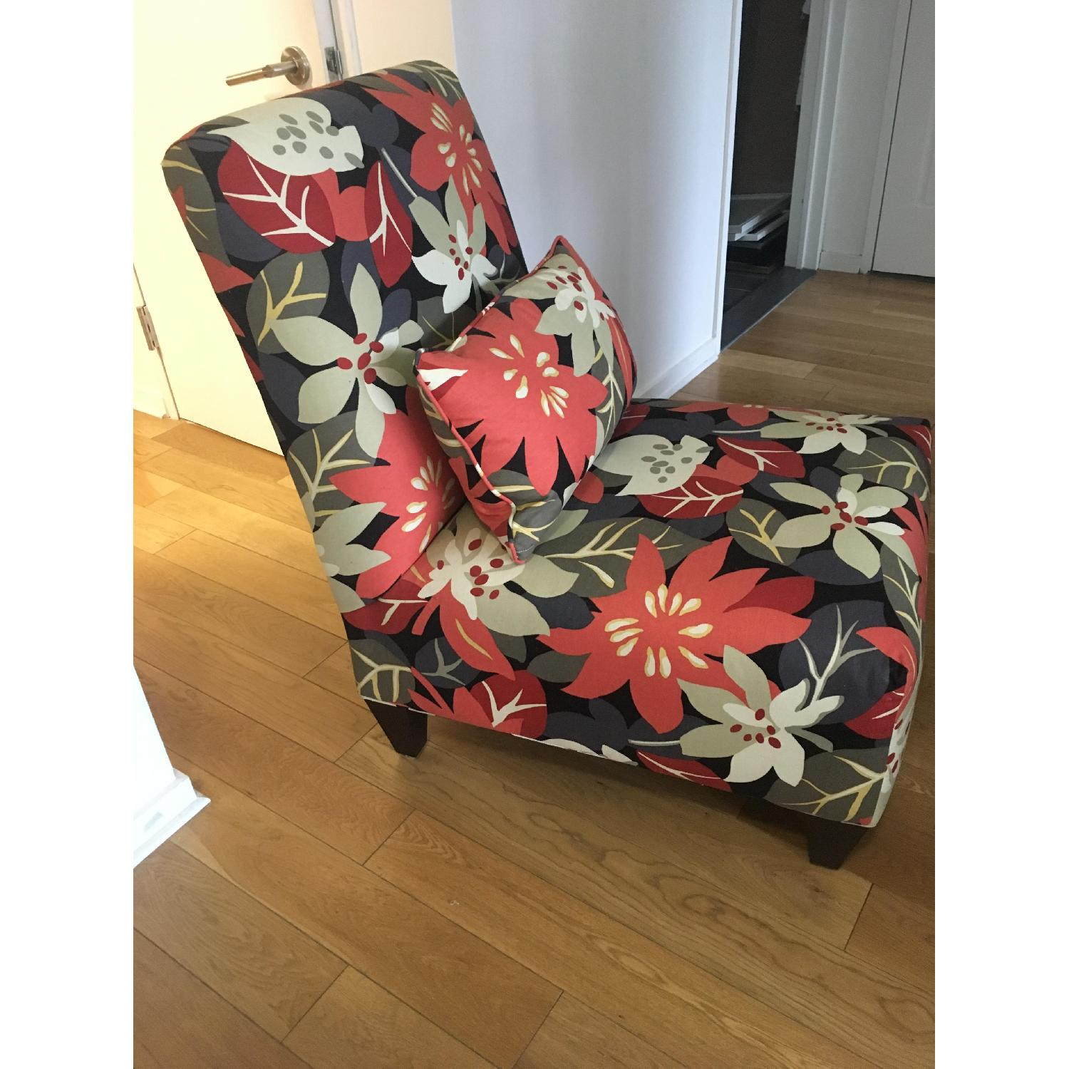 Floral Accent Chair - image-2