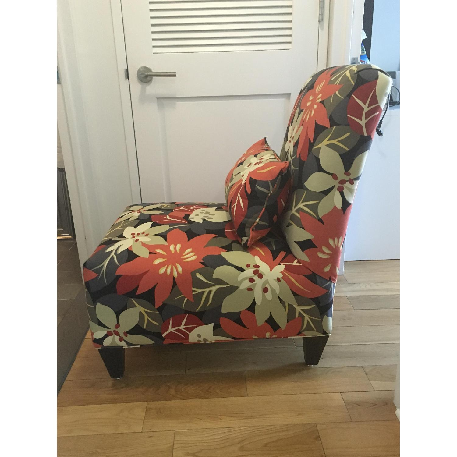 Floral Accent Chair - image-5