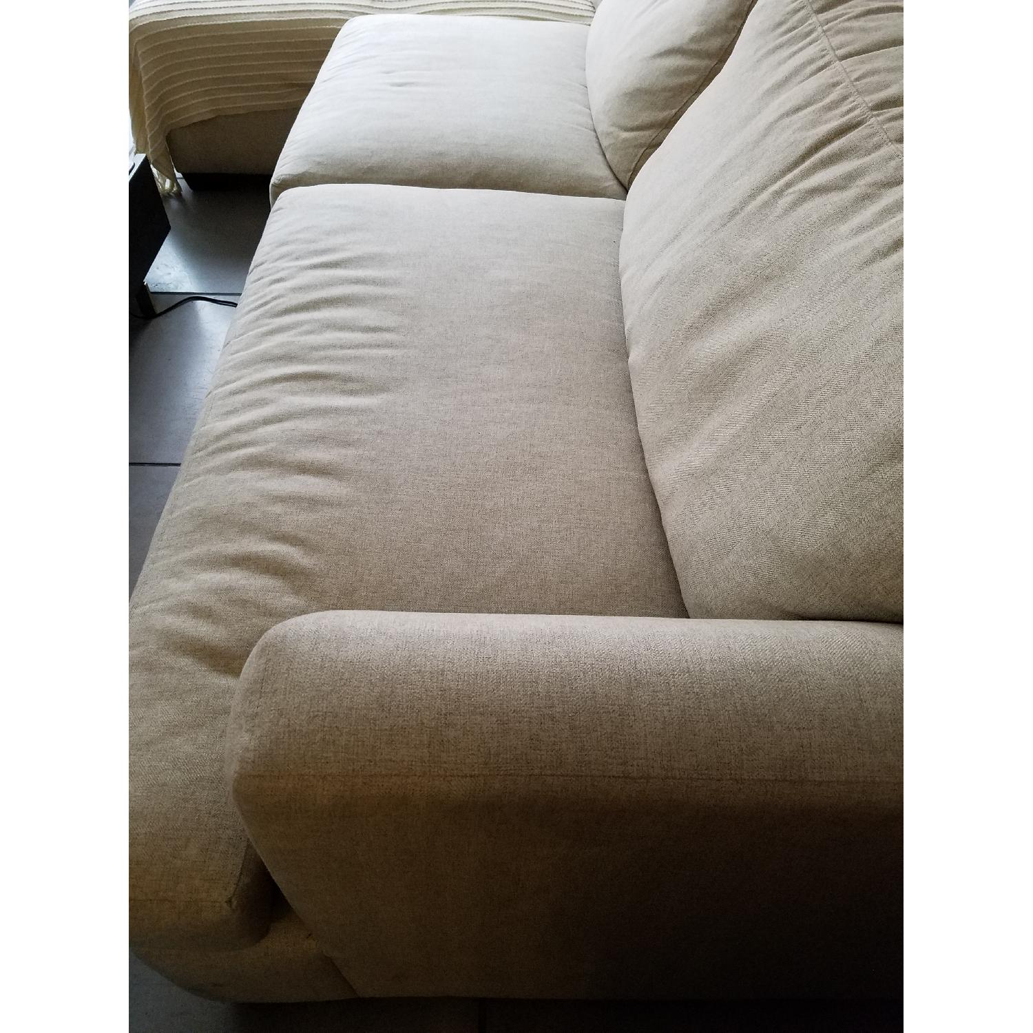 Jennifer Convertibles Sectional Sofa w/ Chaise - image-4