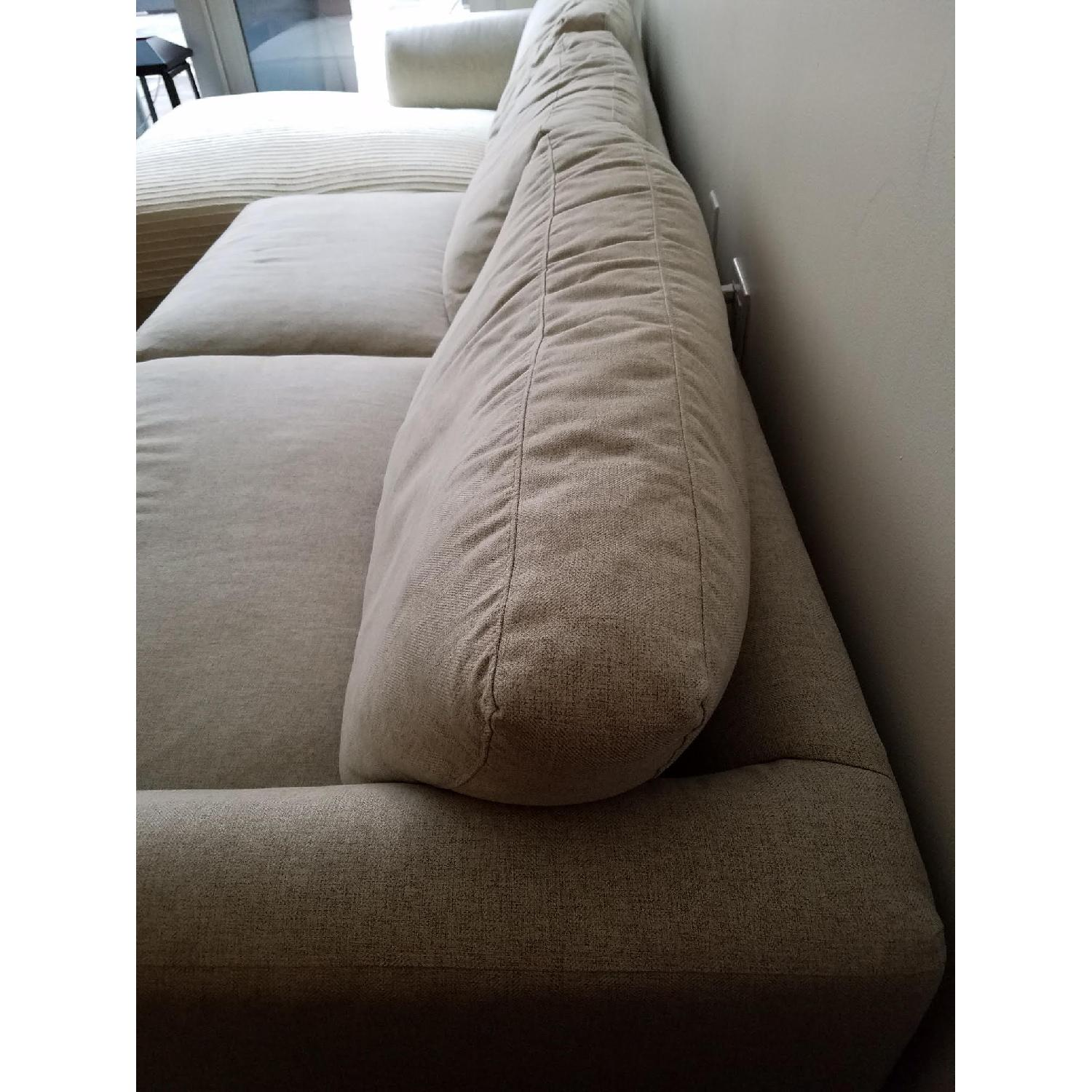 Jennifer Convertibles Sectional Sofa w/ Chaise - image-5