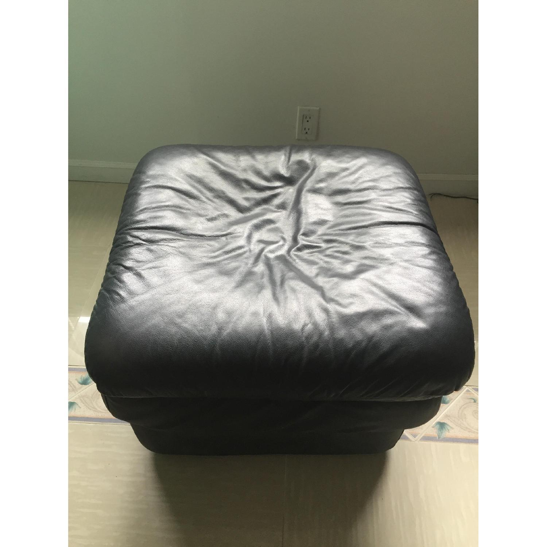 Leather Ottoman - image-4