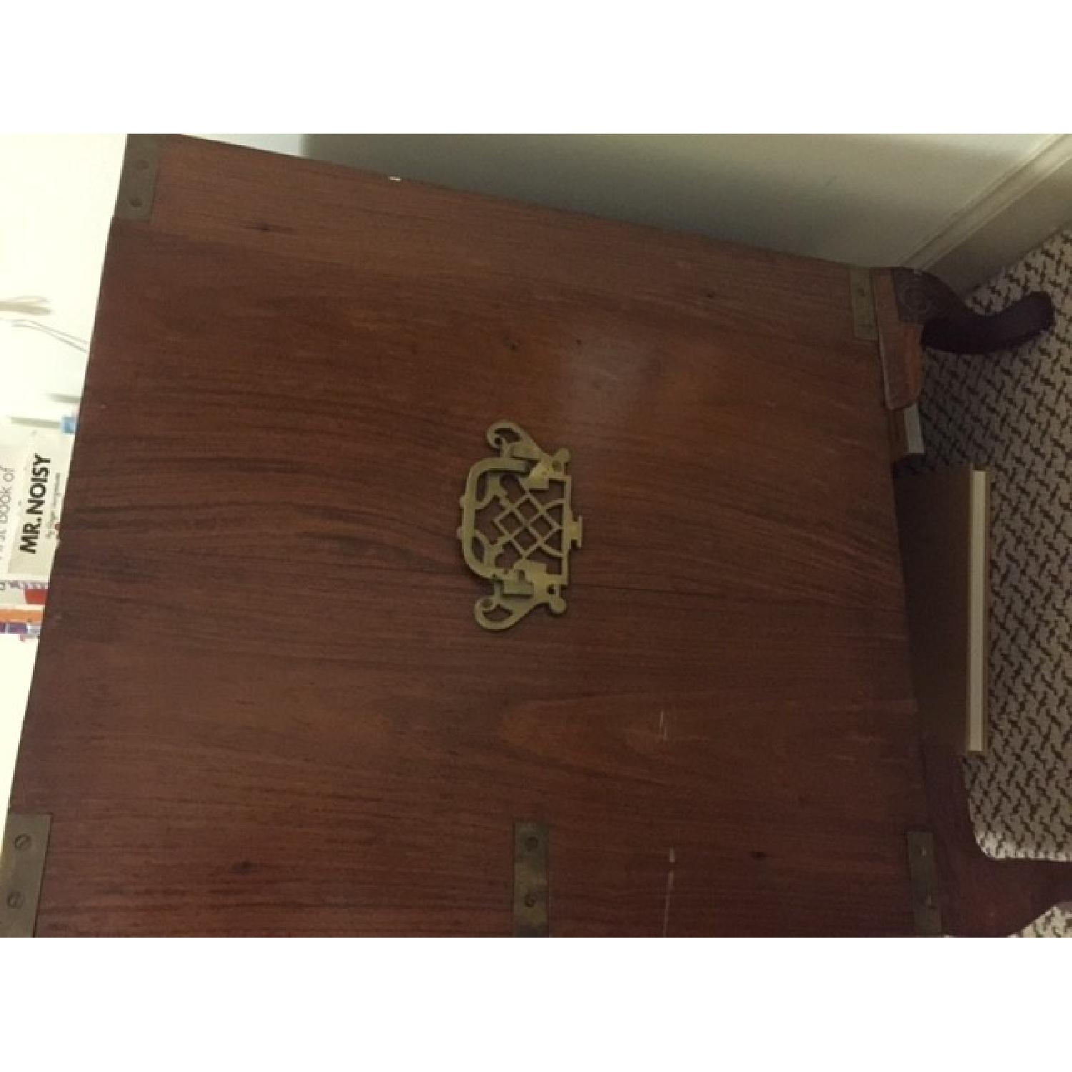 Small Antique Inlaid Chest of Drawers - image-2